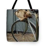 Vintage Bicycle World War II  Tote Bag