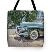 Vintage Car Chevy Fleetmaster Tote Bag