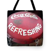 Vintage Coca Cola Sign Asia Tote Bag