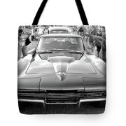 Vintage Corvette Tote Bag