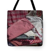 Vintage French Textiles Tote Bag