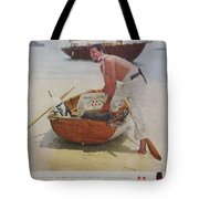 Vintage Haig And Haig Whiskey Advertisement Tote Bag