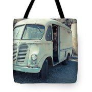 Vintage International Harvester Metro Delivery Van Tote Bag