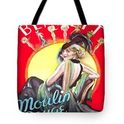 Vintage Poster - Burlesque Movie Tote Bag