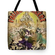 Vintage Poster For Les Sphinx Tote Bag