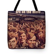 Vintage Poster - Is Your Trip Necessary? Tote Bag
