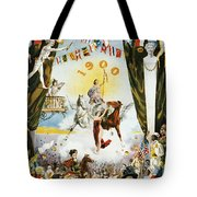 Vintage Poster - Mobile Mardi Gras Tote Bag