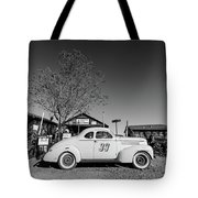 Vintage Race Car Gold King Mine Ghost Town Tote Bag