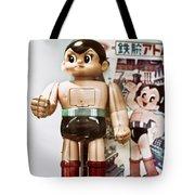 Vintage Robot Astro Boy Tote Bag