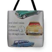 Vintage Studebaker Advertisement Tote Bag
