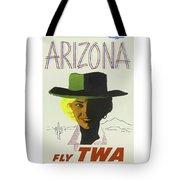Vintage Travel Poster Arizona 3 Tote Bag