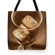 Vintage Vino Tote Bag