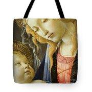 Virgin And Child Renaissance Catholic Art Tote Bag