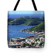 Virgin Island View Tote Bag