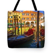 Visions Of Venice Tote Bag