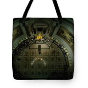 Visitors Tour Historic American Documents At The National Archives. Tote Bag
