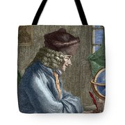 Voltaire In His Office In Vernay Tote Bag