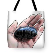 W Is For Wood Cockroach Tote Bag
