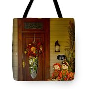 Waiting For Halloween Tote Bag