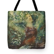 Waking Forest Tote Bag