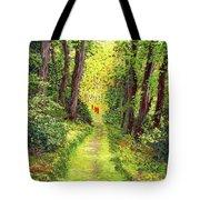 Walking Meditation Tote Bag