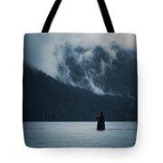 Walking On Water Tote Bag