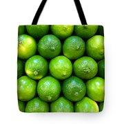 Wall Of Limes Tote Bag