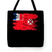 Wallis Futuna Shirt Gift Country Flag Patriotic Travel Oceania Light Tote Bag