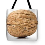 Walnut White Background Tote Bag