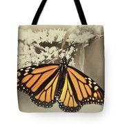 Wandering Migrant Butterfly Tote Bag