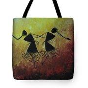 Warli Painting Tote Bag