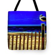 Watchin' The Tide Roll, Away Tote Bag by Paul Wear