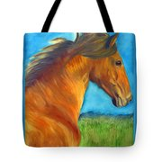 Watching The Morning Breeze Tote Bag