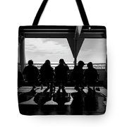 Watching The World  Tote Bag by Mary Lee Dereske