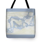 Watching Tv Tote Bag