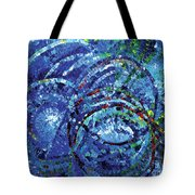 Water Circles Tote Bag