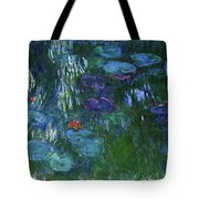 Water Lilies 1918 - Digital Remastered Edition Tote Bag