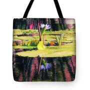 Water Lily 12 Tote Bag
