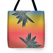 Water Lily Duo Tote Bag