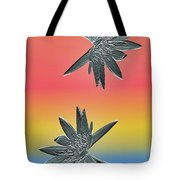 Water Lily Duo Two Tote Bag