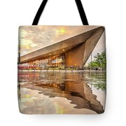 Water Reflection Central Station Rotterdam Tote Bag