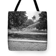 Water Spray Orchard Tote Bag