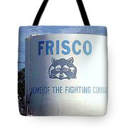 Water Tank With The Coons Tote Bag