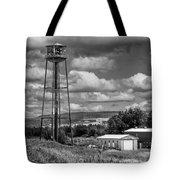 Water Tower In Hillsborough New Brunswick Tote Bag