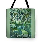 Watercolor - Tree Frog Design Tote Bag by Cascade Colors