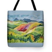 Watercolor - Wilson Mesa Landscape Impression Tote Bag