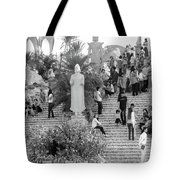 Waterfall Of People Tote Bag by Jeremy Holton