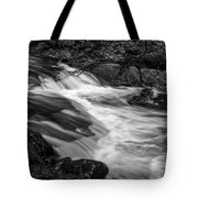 Waterfalls At Ricketts Glenn Tote Bag by Louis Dallara