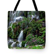 Waterfalls At Seven Star Park Tote Bag