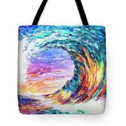 Wave Of Promises Tote Bag